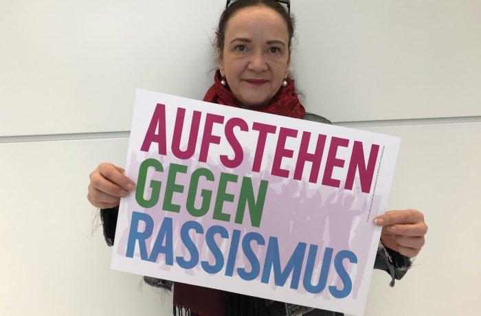 Simone Barrientos sagt: Aufstehen gegen Rassismus