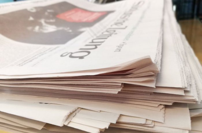 Die Presse berichtet über Simone Barrientos