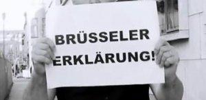 Brüsseler Erklärung - für die Freiheit der Kunst. Petition