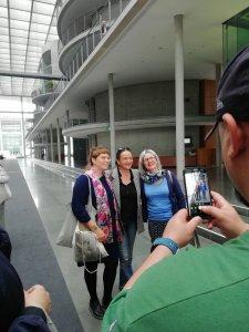 Besuch aus Würzburg, BPA-Fahrt, Foto von Selfie