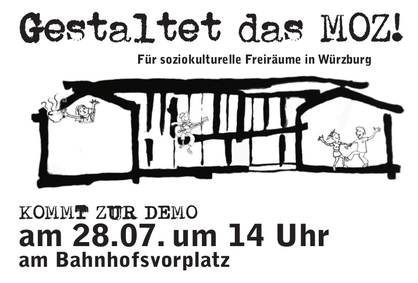 28.07. Demo: Rettet das MOZ!