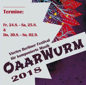 OaarWurm 4.0 ·Festival für komponierte Musik 2018 Eröffnungsveranstaltung: Komponieren - analog oder digital? Hat der einzelne subjektive Komponist noch eine Zukunft?Roundtable-Diskussion zur Musik 4.0
