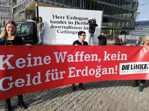Kundgebung in Berlin, Freiheit für Journalisten in der Türkei