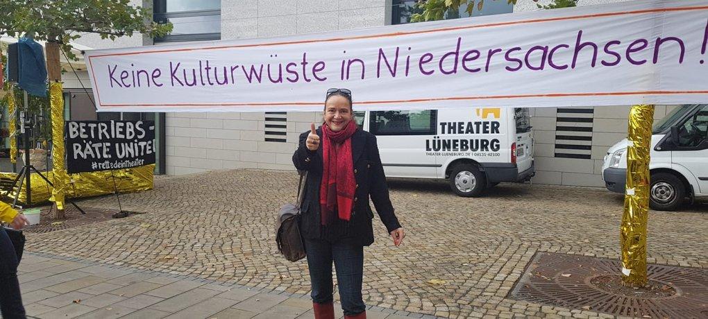 Keine Kulturwüste in Niedersachsen, Simone Barrientos für mehr Wertschätzung gegenüber Theatern und Kulturschaffenden