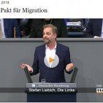 Stefan Liebich über den globalen Pakt zur Migration, die Position von der Linksfraktion und die Instrumentalisierung durch die AfD