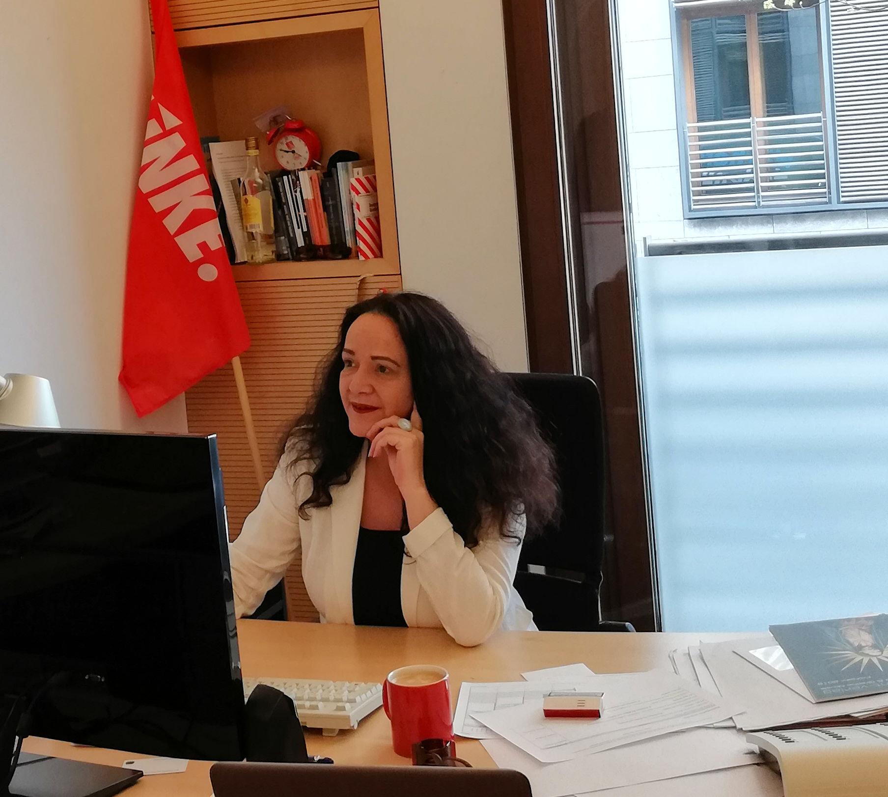 Simone Barrientos im Deutschen Bundestag
