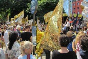 Demonstration von DIE VIELEN am 27.05.18 in Berlin
