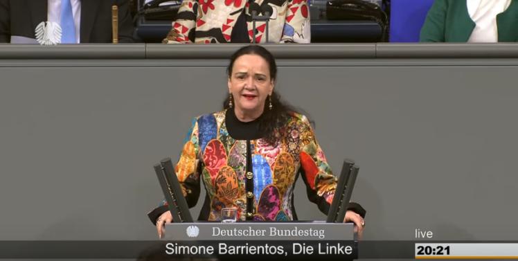 Simone Barrientos, DIE LINKE im Deutschen Bundestag: Zur Debatte um Billy Six - Jeder blamiert sich, so gut er kann.