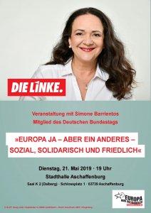 Europa-Veranstaltung DIE LINKE Aschaffenburg